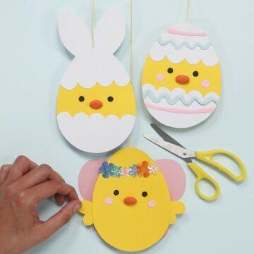 Tvoríme papierové veľkonočné vajíčka